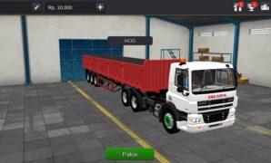 Truck DAF CF Siba Surya Full Anim