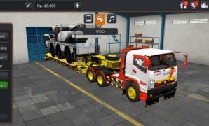 Truck Isuzu Giga Trailer Full Anim Panjang