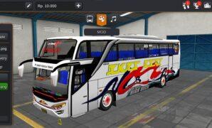 Bus AKAS ASRI SHD Hino RK8 Full Anim
