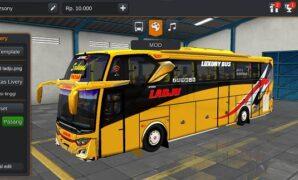 Bus Ladju JB3+ SHD Air Suspension Full Anim