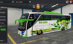 Bus Sari Harum JB2+ SHD Hino RK
