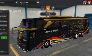 Bus Agung Sejati JB3+ Tronton Volvo Full Anim dan Air Suspension