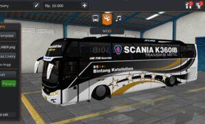 Bus Bintang Katulistiwa Jetliner Full Anim