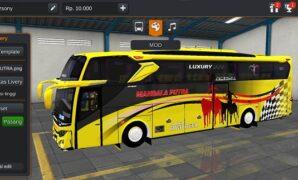 Bus Mandala Putra JB3 Hino Full Anim