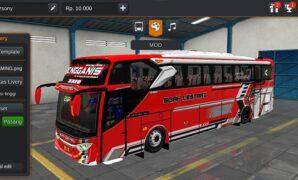 Bus Buah Lestari JB3+ MHD Full Anim