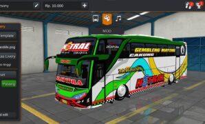 Bus Madona Netral JB2+ SHD Hino RK
